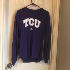 TCU long sleeve tshirt